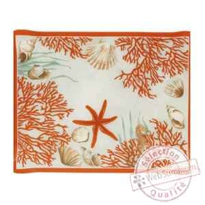 Nappe corail Beauville -n11461