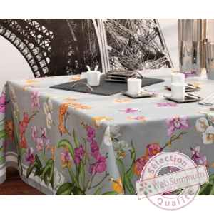 Nappe orchidees Beauville -n11490