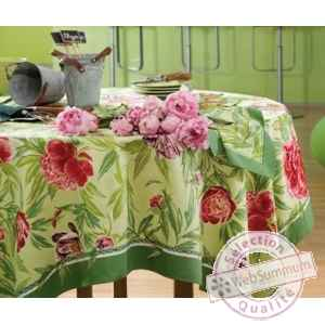 Nappe pivoines Beauville -n11239