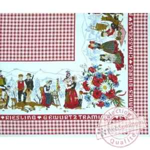 Nappe plaisirs d'alsace Beauville -n2101