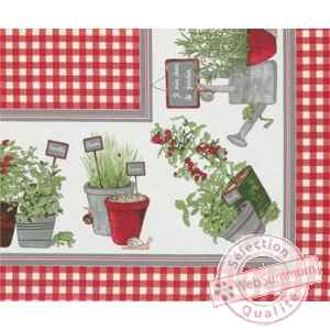 Nappe potager Beauville -n11552