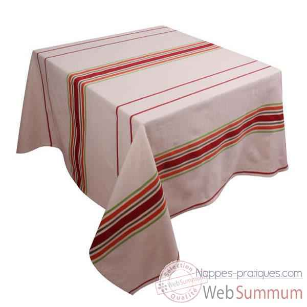 Video Nappe carree Artiga Corda Melon Cigare 165 x 165