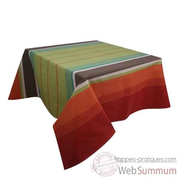 Nappe rectangulaire artiga 250 x 160 dans toutes nappes de for Set de table coton