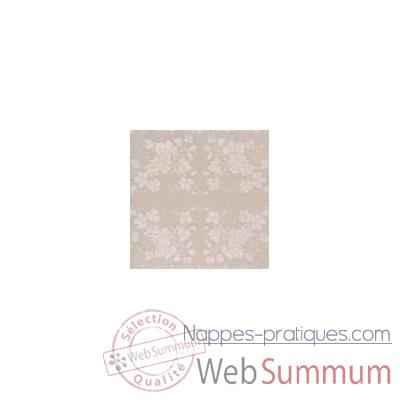 nappe st roch rectangulaire vendange mastic pur coton 160x250 35. Black Bedroom Furniture Sets. Home Design Ideas