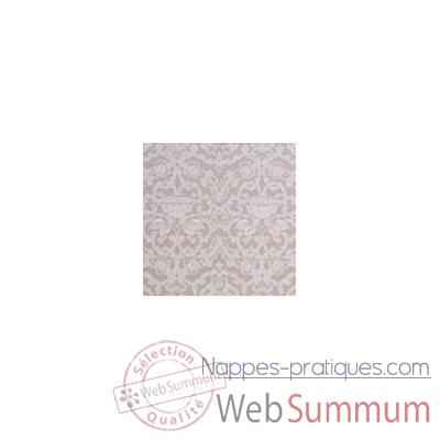 Nappe St Roch rectangulaire Medicis mastic 160x250 -35