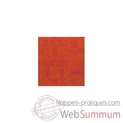 Nappe St Roch rectangulaire Byzance paprika 160x250 -34