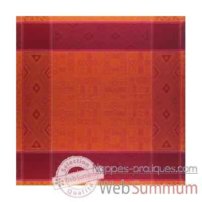 Video Nappe St Roch rectangulaire Constantine Paprika -34