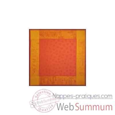 Nappe St Roch rectangulaire 4 Saisons Orange -33