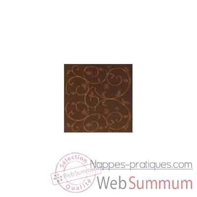 Video Nappe rectangulaire St Roch Toscane moka 160x200 -91