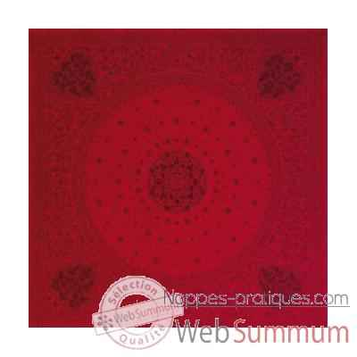 Video Nappe rectangulaire St Roch Tsarine pivoine -55