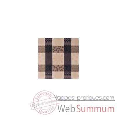 nappe st roch rectangulaire patchpop noir 210x300 99 dans toutes nappes de table. Black Bedroom Furniture Sets. Home Design Ideas